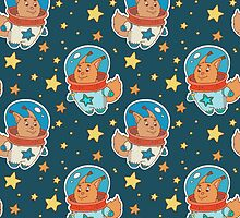 Astro squirrel pattern by julkapulka