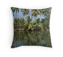 Kerala Life Throw Pillow