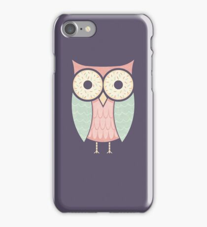 Owl Have Two Doughnuts iPhone Case/Skin