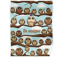 Be Unique Poster