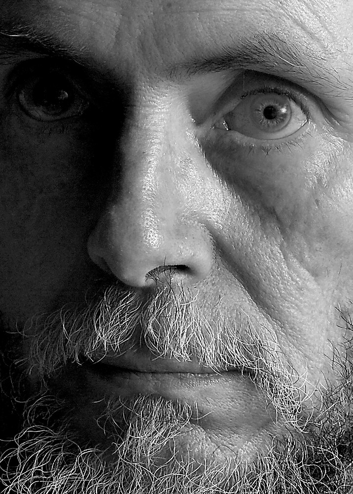 self-portrait #1 by Dave  Higgins