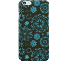 Round ornament seamless pattern iPhone Case/Skin