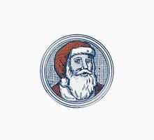Santa Claus Father Christmas Vintage Etching Unisex T-Shirt