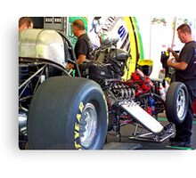 FUNNY CAR CHASSIS Canvas Print