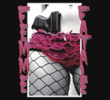 Femme Fatale Gangster Girl by dustyvinylstore