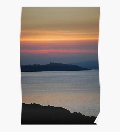 Bangor sunset Poster