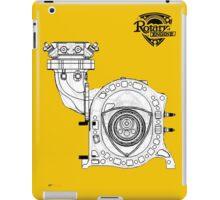 Mazda Rotary Engine Blueprint for Power 13B iPad Case/Skin