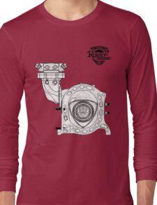 Mazda Rotary Engine Blueprint for Power 13B Long Sleeve T-Shirt