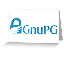 GnuPG Greeting Card