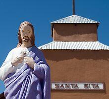 Santa Rita Church, Ghost Town of Riley, NM by Mitchell Tillison