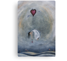 loVe has over taken me Canvas Print