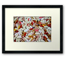 DRUGS - ARE THEY GOOD FOR YOU OR NOT Framed Print