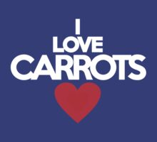 I love carrots by onebaretree