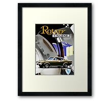 Mazda Rotary RX4 Bridgeport 13B Framed Print
