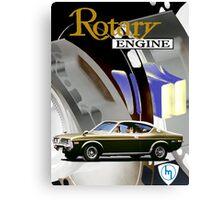 Mazda Rotary RX4 Bridgeport 13B Canvas Print