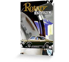 Mazda Rotary RX4 Bridgeport 13B Greeting Card