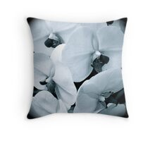 Composition in Black and White Throw Pillow