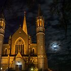 Cathedral under Moonlit Clouds by Joel Bramley
