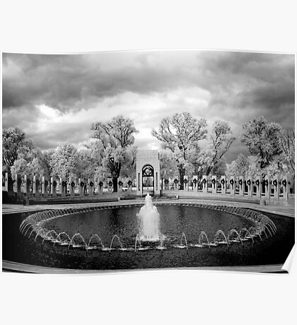 World War II Memorial, Washington, D.C. Poster