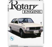 Mazda R10, R100 Rotary Engine Classic iPad Case/Skin