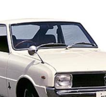 Mazda R10, R100 Rotary Engine Classic Sticker