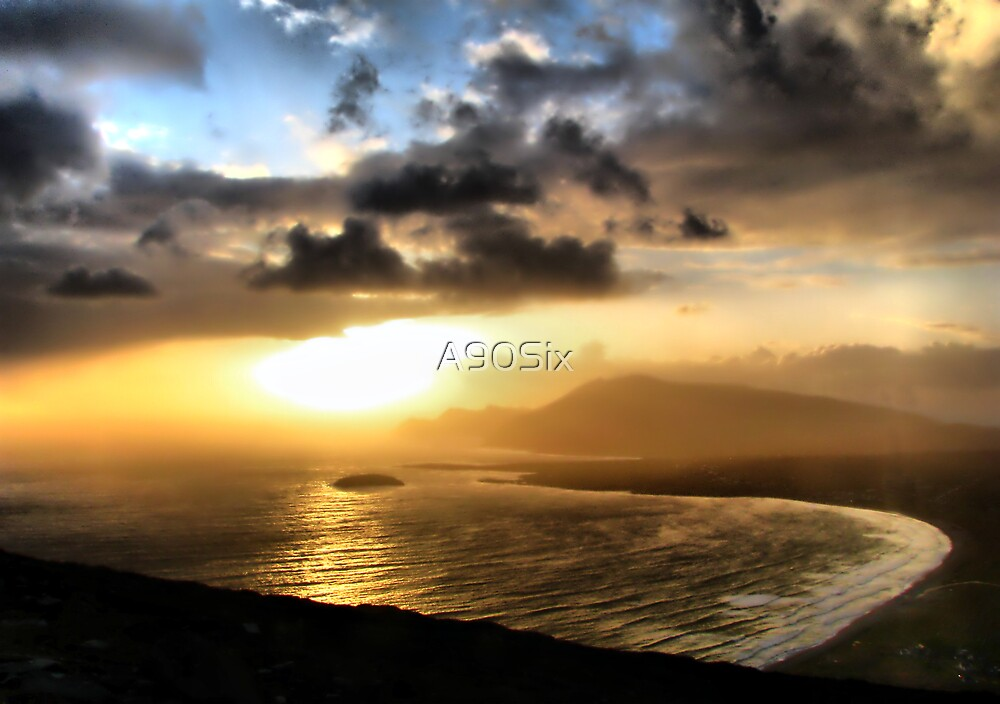 Achill Sunset by A90Six
