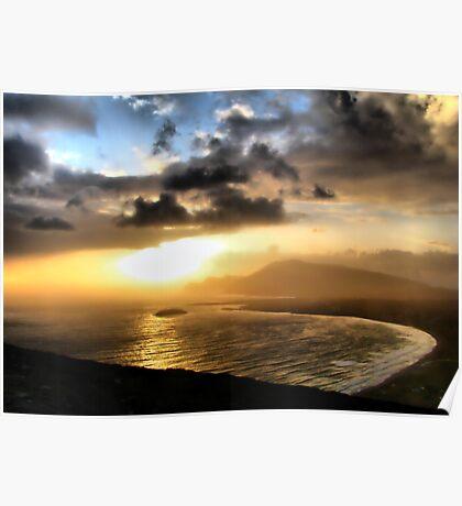 Achill Sunset Poster