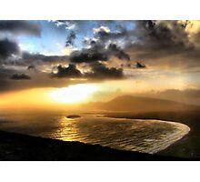 Achill Sunset Photographic Print