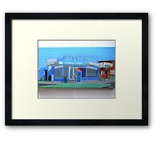Stradbroke Milk Bar Framed Print