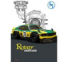 Mazda Rotary RX3 Savanna GT  Photographic Print
