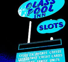 Glass Pool Inn by gail anderson