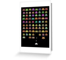 Fashionable Invaders Greeting Card