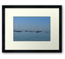 Serenity Of Still Water Framed Print