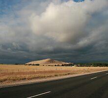 STORM OVER MT MUIRHEAD by Paul Cavanagh