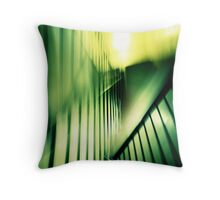 stairway abstract Throw Pillow