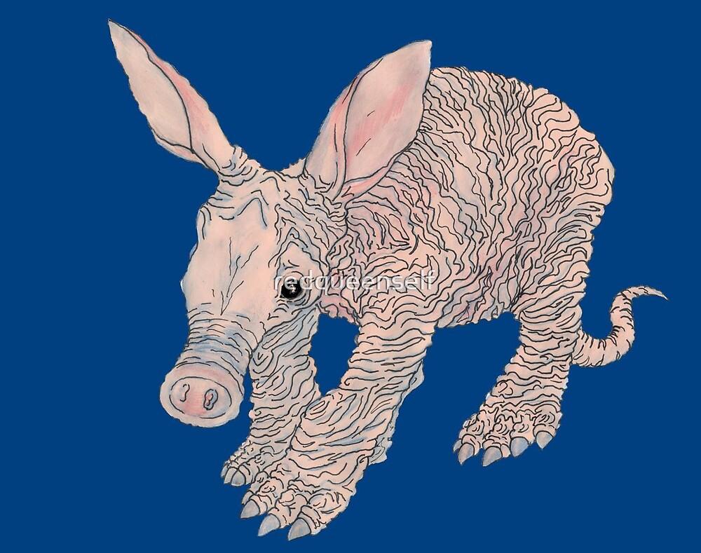 A is for Aardvark by redqueenself