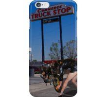 Nun, stop - action iPhone Case/Skin