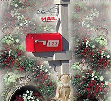 Mail Box Garden by Glenna Walker
