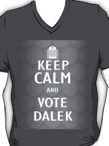 Keep calm and vote Dalek T-Shirt