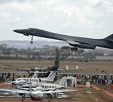 B1 Take-off @ Avalon Airshow by muz2142