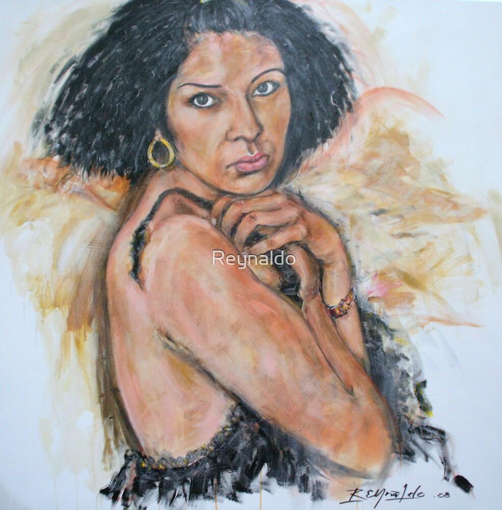 Latina Angel  by Reynaldo