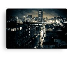 Night from the Hill Canvas Print