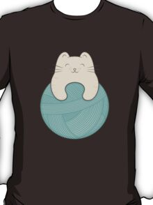 knit cat T-Shirt