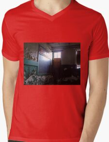 Failing Protections Mens V-Neck T-Shirt