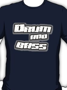 Drum and bass t-shirt by DVDclothing.com T-Shirt