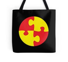 jigsaw in a circle Tote Bag