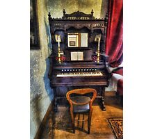 Love Is Called My Old Piano Photographic Print
