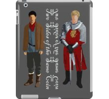 Two sides (light) iPad Case/Skin
