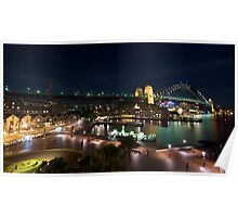 """ Sydney Harbour Foreshore .. "" Poster"