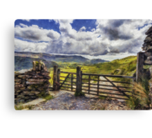 Gateway To Freedom Canvas Print